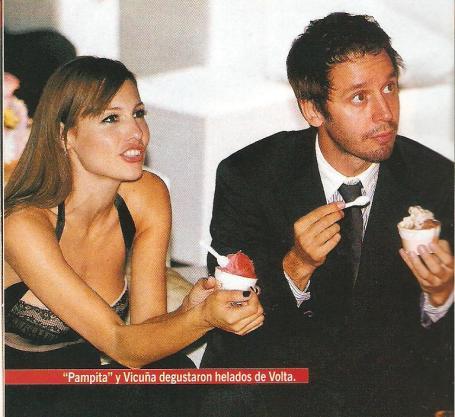 Disfrutando un helado